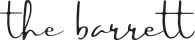 The Barrett Logo